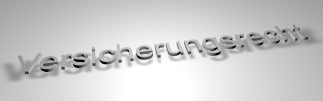 Berufsunfähigkeitszusatzversicherung, Urteil LG Dortmund